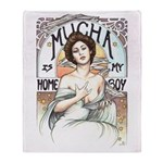 Mucha is my Homeboy Throw Blanket