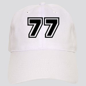 Varsity Uniform Number 77 Cap