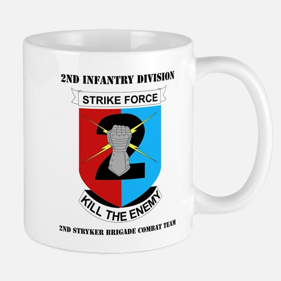 DUI - 2nd Stryker BCT with Text Mug