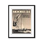 Moore 24 Framed Panel Print