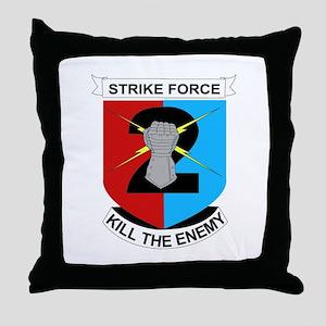 DUI - 2nd Stryker BCT Throw Pillow