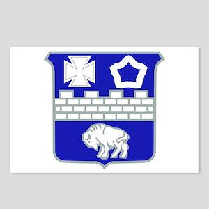 DUI - 1st Bn - 17th Infantry Regt Postcards (Packa