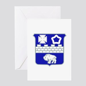 DUI - 1st Bn - 17th Infantry Regt Greeting Card