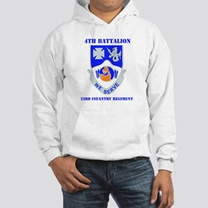 DUI - 4th Bn - 23rd Infantry Regt with Text Hooded