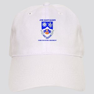 DUI - 4th Bn - 23rd Infantry Regt with Text Cap