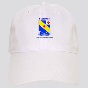 DUI - A Company - 52nd Infantry Regt with Text Cap