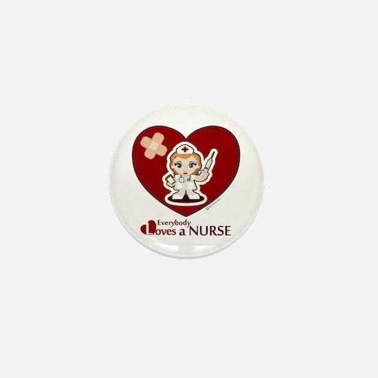 Unique Charge nurse Mini Button