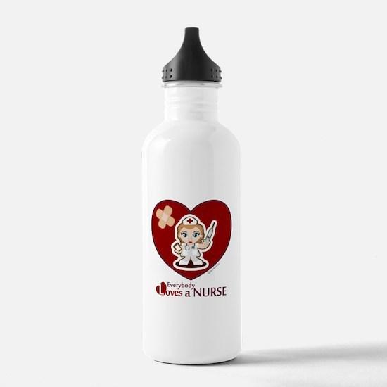 Cute Charge nurse Water Bottle