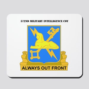 DUI - 572nd Military Intelligence Coy with text Mo