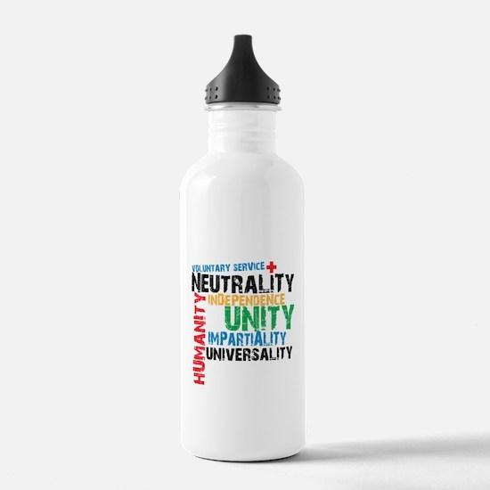 Red Cross - Water Bottle