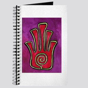 Spiral Hamsa Journal