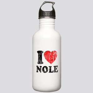 I Love Nole! Stainless Water Bottle 1.0L