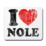 I Love Nole! Mousepad