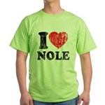I Love Nole! Green T-Shirt