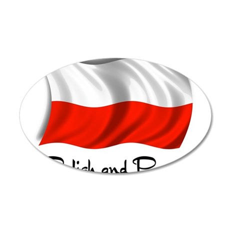 Polish and Proud 22x14 Oval Wall Peel