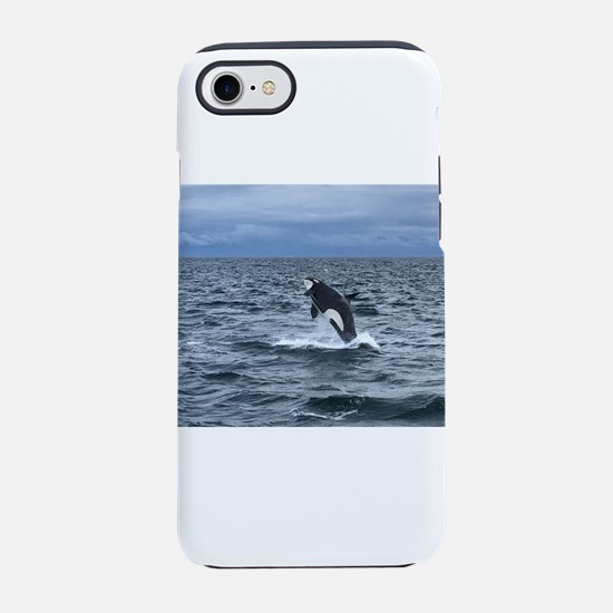Leaping Orca Whale iPhone 7 Tough Case