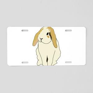 Lop Rabbit Aluminum License Plate