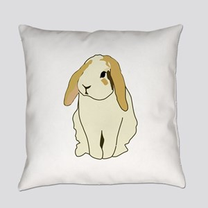 Lop Rabbit Everyday Pillow