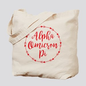 Alpha Omicron Pi Arrows Tote Bag
