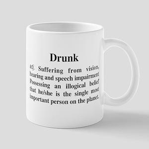 The Definition Of Drunk Mug