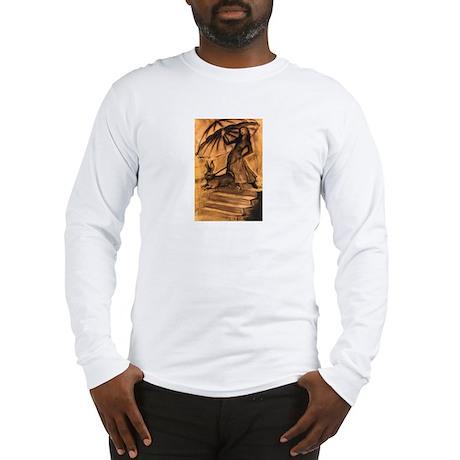 Woman walking Rabbit Long Sleeve T-Shirt
