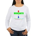 Contaminating the Food Supply Women's Long Sleeve