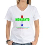 Contaminating the Food Supply Women's V-Neck T-Shi
