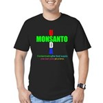 Contaminating the Food Supply Men's Fitted T-Shirt