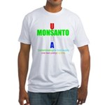 Contaminating the Food Supply Fitted T-Shirt