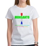 Contaminating the Food Supply Women's T-Shirt