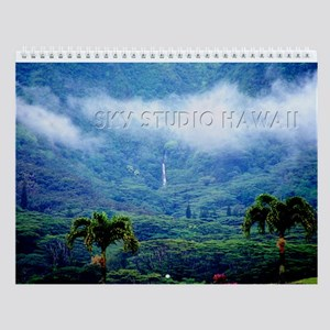 Manoa Valley Honolulu Hawaii Wall Calendar