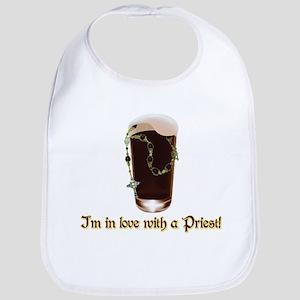 I'm in love with a Priest Bib