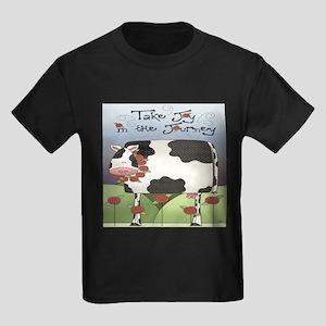 Wise Old Cow Kids Dark T-Shirt