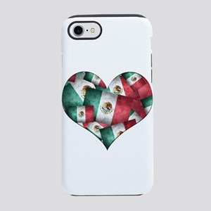Grunge-Style Flag of Mexico H iPhone 7 Tough Case