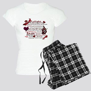 Twilight Book Quotes Pajamas