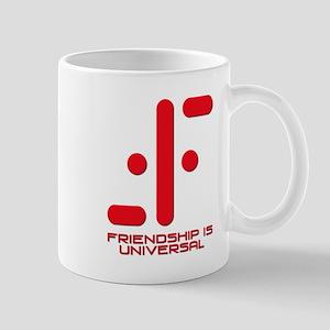 V Friendship is Universal Mug