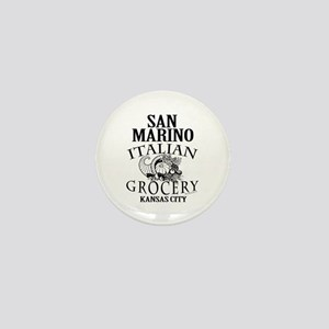 San Marino Italian Grocery Mini Button