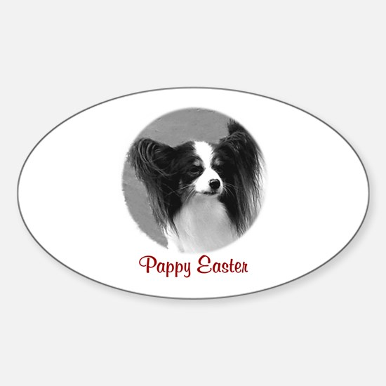 Pappy Easter Oval Decal