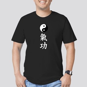 QiGong Men's Fitted T-Shirt (dark)