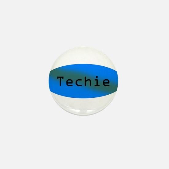 Techie Mini Button