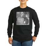 Robots and Gerbils (Not Text) Long Sleeve Dark T-S