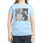 Robots and Gerbils (Not Text) Women's Light T-Shir