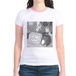 Robots and Gerbils (Not Text) Jr. Ringer T-Shirt