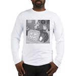 Robots and Gerbils (Not Text) Long Sleeve T-Shirt