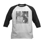Robots and Gerbils (Not Text) Kids Baseball Jersey