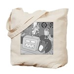 Robots and Gerbils (Not Text) Tote Bag