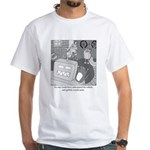 Robots and Gerbils White T-Shirt