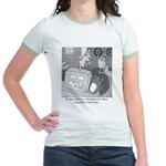 Robots and Gerbils Jr. Ringer T-Shirt