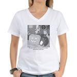 Robots and Gerbils Women's V-Neck T-Shirt
