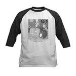 Robots and Gerbils Kids Baseball Jersey